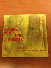 LP SANDRA E MARIO BATTAINI CON LA SUA FISARMONICA - AMORE MIO NON PIANGERE EX/EX