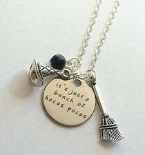 """It's just a bunch of hocus pocus"" Wizard necklace jewelry From USA"
