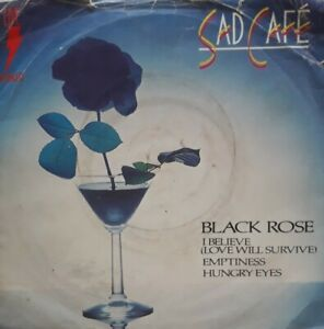 "Sad Cafe-Live In Concert Vinyl 7"" Single.1981 RCA RCAE 42.Black Rose/Emptiness+"