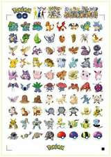 "Pokemon Go Sticker Decal Set -  ""OVER 151 STICKERS"""