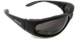 Bifocal +2.0 Motorcycle Sunglasses Hercules Unbreakable Biker Glasses + Pouch