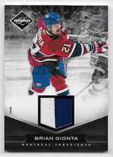 11/12 LIMITED MATERIALS PRIME GAME JERSEY #167 Brian Gionta #5/25 2CLR