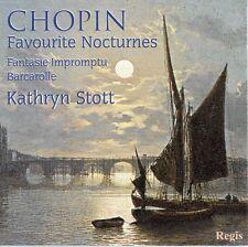 CD CHOPIN FAVOURITE NOCTURNES  FANTASIE-IMPROMPTU BARCAROLLE  KATTHRYN STOTT