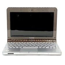 """Toshiba NB205-N210 10.1"""" Laptop Intel Atom N280 1.66GHz 2GB RAM 40GB SSD Bundle"""