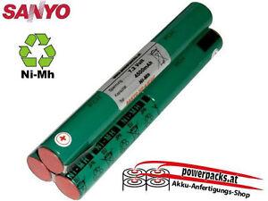Tauchlampen Akku, anfertigung für alle Modelle SANYO 4/3FAU 3L 7.2V4500mAh