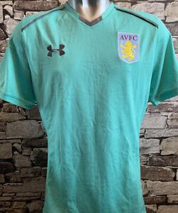Aston Villa Player Issue Training Shirt
