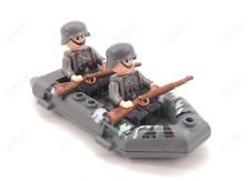 WW2 Custom Mütze braun Schiffchen für US Soldaten 4 Stück für LEGO® Figuren
