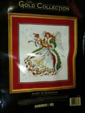 Dimensions Gold Collection 1994 Angel of Elegance 8463 Cross Stitch Kit Vtg