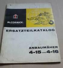IHC Anbaumähwerk 4-15 + 4-16 (323 423 523 624) Ersatzteilkatalog