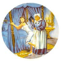 Lacing Scarlett Gone With The Wind Knowles Kursar Plate w/COA & Box 6318B 1982
