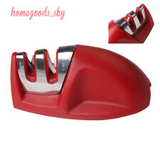 Manually 2 Stage Knife Sharpener Scissors Blade Cutting Sharpening Kitchen Tool