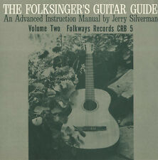 Jerry Silverman - Folksinger's Guitar Guide, Vol. 2: An Instruction [New CD]