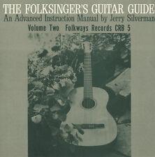 Jerry Silverman - Folksinger's Guitar Guide, Vol. 2: An Instruction [New CD]