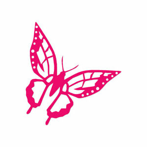 Butterfly Monarch - Vinyl Decal Sticker - Multiple Color & Sizes - ebn805