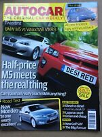 Autocar Magazine - 13 June 2007 - BMW M5 v Vauxhall VXR8 Ford Mondeo Clio 197