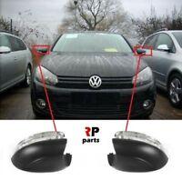 Pour VW Golf VI Hb 09-13, Touran 10-15 Rétroviseur Clignotant Répétiteur Paire