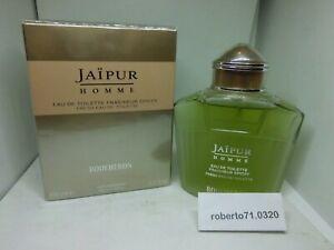 Boucheron Jaipur Homme Eau de Toilette Fraicheur Epicee ML 100 Spray New