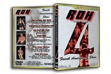 Official ROH Fourth Anniversary Show DVD RARE OOP