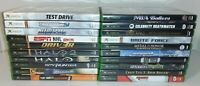 Lot of 20 Original Xbox Video Games Complete CIB All Tested & Work Name On Discs
