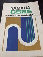 Yamaha CS5E Service Manual 1970