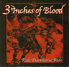 3 Inches Of Blood-Ride Darkhorse Ride CD Single  New