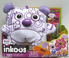 BLINGOO INKOOS DELUXE BEAR - DRAW DESIGN DECORATE THEN WASH AND RE-DO! BRAND NEW