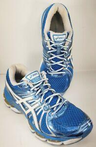 ASICS Gel Nimbus 15 Women's Size US 9 Athletic Running Shoes Blue/White T3B5Q