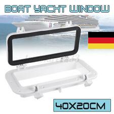 40cmx20cmYacht Bullauge Fenster Luken Wiedereinbau Portlight Garte //