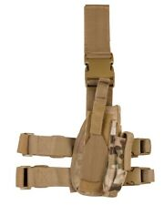 Kombat Drop Leg Holster Genuine Multicam MTP Military Forces Right Hand Airsoft