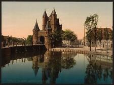 Amsterdam Gate Haarlem A4 Photo Print