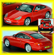 Porsche 911 996 Carrera 1998-2006 Guards red rot 1:43
