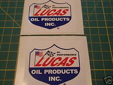 LAMBRETTA VESPA 2X LUCAS OIL Stickers RB,GP,SX,TV,LI,TS1,GS,GT