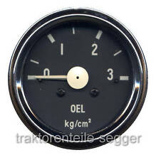 Öldruckmanometer UNIMOG 60 mm NEU 229