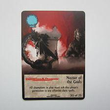 TSR Spellfire CCG 1996 AD&D Ultra Rare Chase 20/25 Nectar of the Gods Card