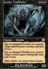 MTG magic cards 1x x1 Light Play, English Zombie Trailblazer Torment