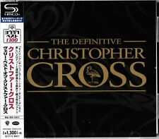 THE DEFINITIVE CHRISTOPHER CROSS 2017 RMST SHM CD - MINT THROUGHOUT WITH OBI