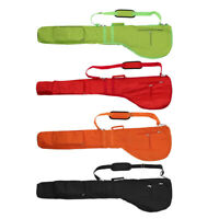 Golf Pencil Bag Golf Club Pouch Case Carry Iron/Wood/Putter Storage Cover