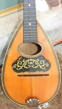 Antique 1905 Lyon & Healy Chicago Lute Mandolin Bowlback College Line Tater Bug