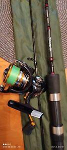 Daiwa Laguna 702ULFS Spinning Rod and Daiwa Revros 2500 reel.