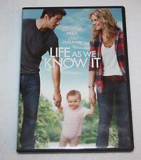 LIFE AS WE KNOW IT (DVD, 2011) JOSH DUHAMEL, KATHERINE HEIGL ~ROMANTIC COMEDY