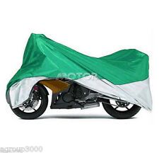 L Waterproof Motorcycle Storage Cover Fit Honda CB 250 450 650 700 750 Nighthawk