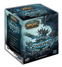 WOW World of Warcraft TCG Scourgewar Epic Collection Factory Sealed Box