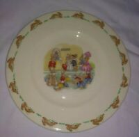 "Vintage Royal Doulton ""Bunnykins"" Plate Fine China 1936 8"""