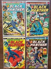 JUNGLE ACTION FEATURING BLACK PANTHER #6-24 (*missing 11&18) VG/FN