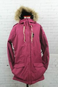 Ride Marion Insulated Snowboard Jacket Women's Medium Raspberry Purple New