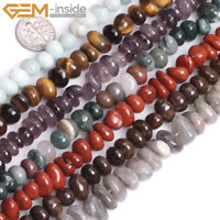 "8x12mm Natural Gemstones Nugget Potato Freeform Beads For Jewellery Making 15""UK"