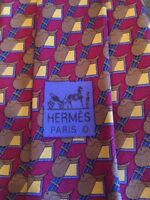Hermes Paris Men's Neck Tie #7144 FA 100% Silk Made In France