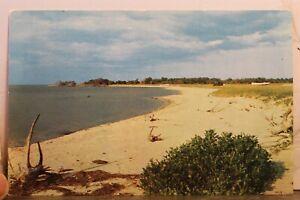 North Carolina NC Cape Hatteras Teach's Hole Postcard Old Vintage Card View Post
