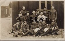 Soldier group regular battalion Somerset Light Infantry 1931 in hutted camp