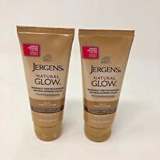 2 Jergens Natural Glow Daily Moisturizer New 2 Oz Fair To Medium Body Lotion